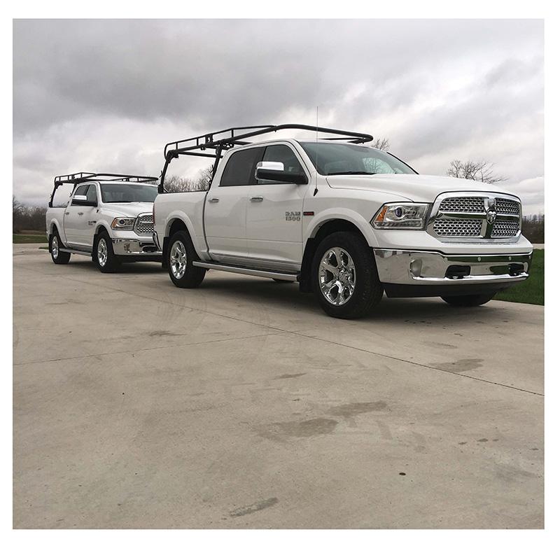 Pickup Trucks with Ladder Racks
