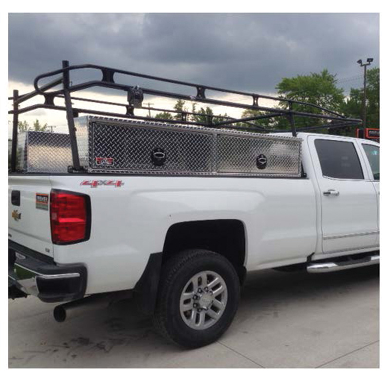 Pickup Truck with Toolboxes