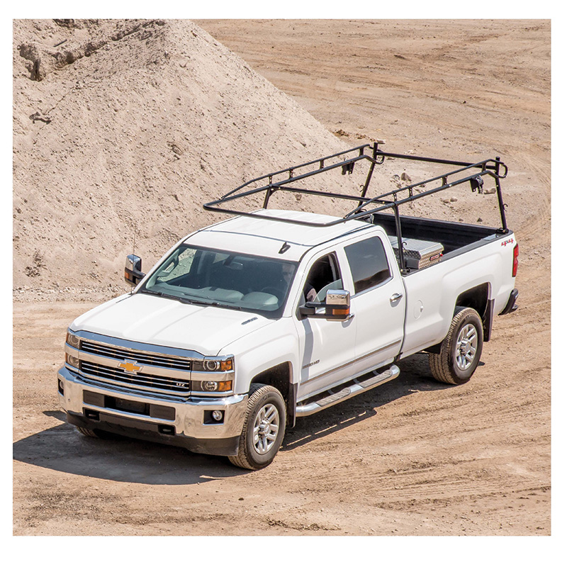 Pickup with Ladder Rack
