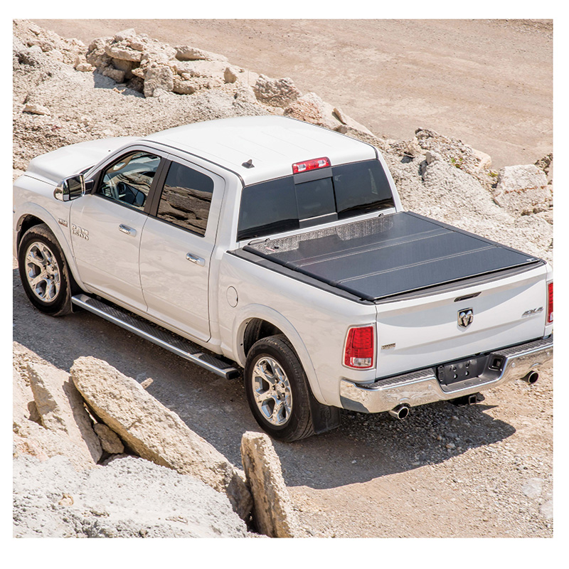 Pickup with Tonneau Cover