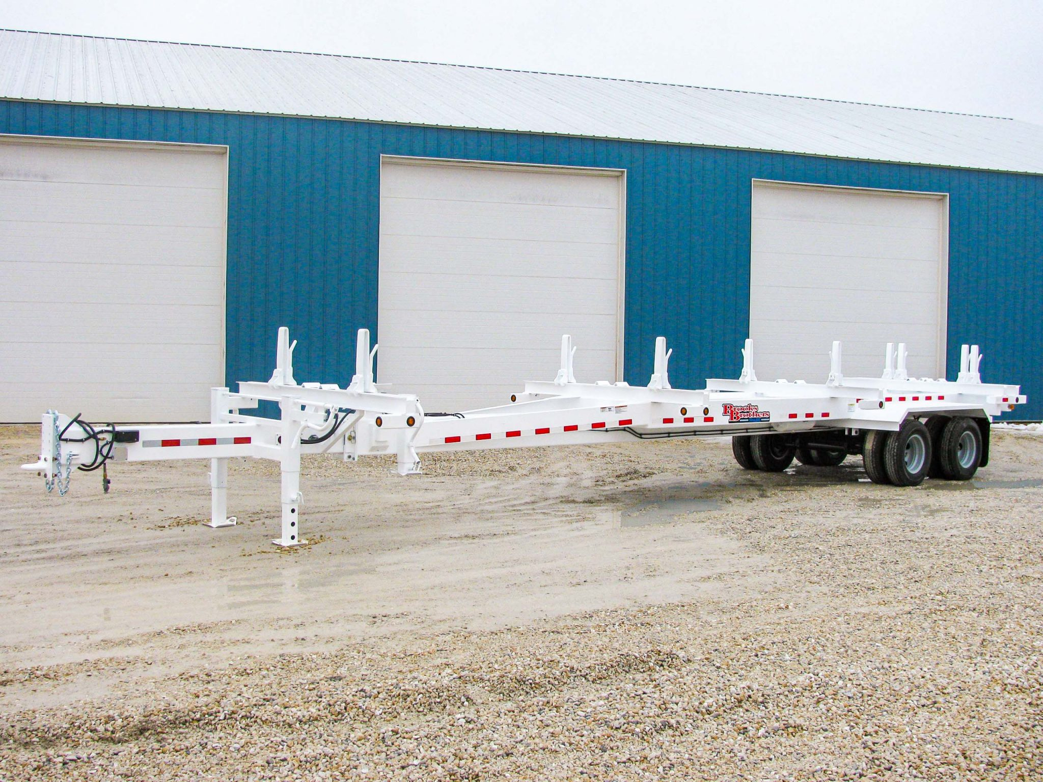 Pole Trailer for Rent